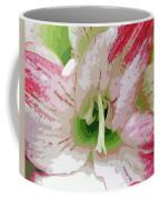 Amaryllis Center Coffee Mug