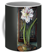 Amaryllis In The Window Coffee Mug