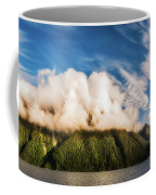 Amazing Cloud Formation At Lake Manapouri In New Zealand Coffee Mug