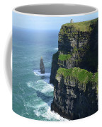 Amazing Look At The Sea Cliff's Of Moher In Ireland Coffee Mug