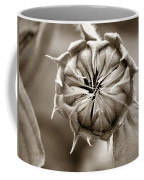 Amazing Sunflower Bud Coffee Mug