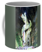 Amazing Vancouver Island Series - Sombrio Cave Waterfall  Inside  Closeup 2. Coffee Mug