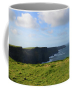 Amazing Views Of The Cliff's Of Moher In Ireland Coffee Mug