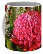 Amazing Waratah Flower Coffee Mug