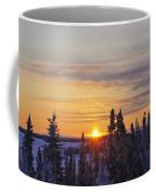Amazing Winter Sunrise Coffee Mug