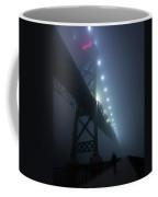 Ambassador Bridge In Fog Coffee Mug