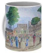 Amber At The Roman Coliseum Coffee Mug