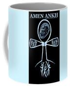 Amen Ankh Indigo Coffee Mug
