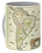 America Pars Meridionalis Coffee Mug