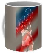 America Coffee Mug by Tbone Oliver