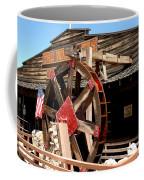 America Water Wheel Coffee Mug