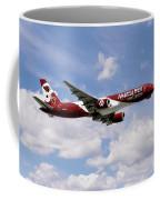 America West Boeing 757 Arizona Cardinals Coffee Mug