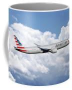 American Airlines Boeing 777 Coffee Mug