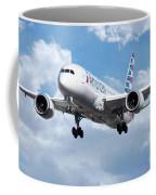 American Airlines Boeing 787 Dreamliner Coffee Mug