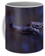 American Alligator Sleeping Coffee Mug