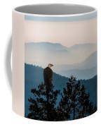 American Bald Eagle Sentinel Coffee Mug