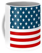 American Beach Towel Coffee Mug