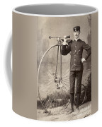 American Bicyclist, 1880s Coffee Mug