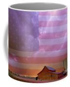 American Country Stormy Night Coffee Mug