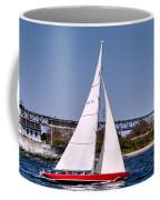 American Eagle Newport Ri Coffee Mug