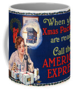 American Express Shipping Coffee Mug