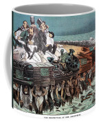American Financiers, 1883 Coffee Mug