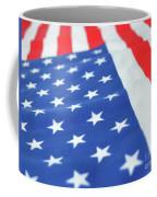 American Flag 2 Coffee Mug