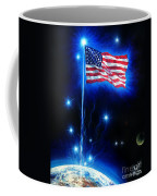 American Flag. The Star Spangled Banner Coffee Mug