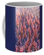 American Flags In Tampa Coffee Mug
