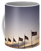 American Flags On The Mall Coffee Mug