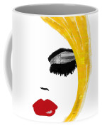 American Girl Coffee Mug by Mindy Sommers