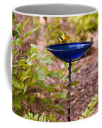 American Goldfinch At Water Bowl Coffee Mug