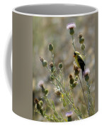American Goldfinch Having Lunch On Bakery Hill 2 Coffee Mug