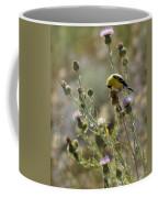 American Goldfinch Having Lunch On Bakery Hill Coffee Mug