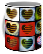American Hearts Coffee Mug