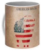 American Mammal The Bison Coffee Mug