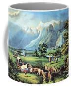 American Manifest Destiny, 19th Century Coffee Mug
