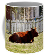 American Milking Devon In Spring Coffee Mug