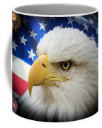 American Pride Coffee Mug by Shane Bechler