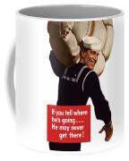 American Sailor -- Ww2 Propaganda Coffee Mug
