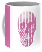 American Skull Pink Coffee Mug
