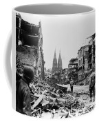 American Soldiers In Cologne, Germany Coffee Mug