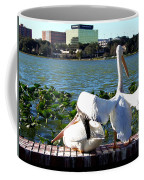 American White Pelican 004 Coffee Mug