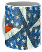 Americana Abstract Coffee Mug