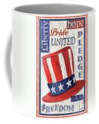 Americana Patriotic Coffee Mug