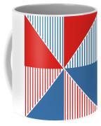 Americana Pinwheel Coffee Mug