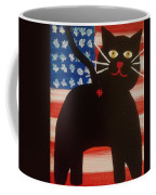 Americat Cat Butt Coffee Mug