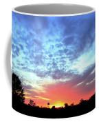 City On A Hill - Americus, Ga Sunset Coffee Mug