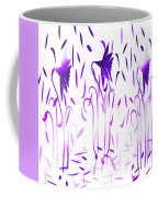 Amethyst Dancing Flowers Coffee Mug