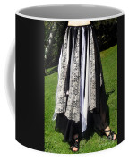 Ameynra Fashion Gothic Skirt With Lace Coffee Mug